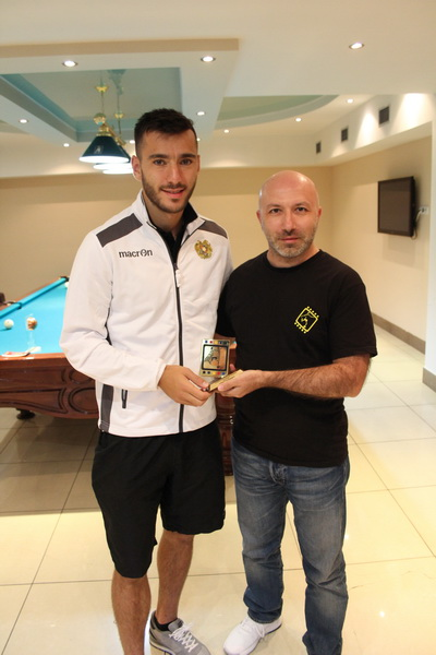 ASA 2018-19 Best Armenian Player - Sargis Adamyan
