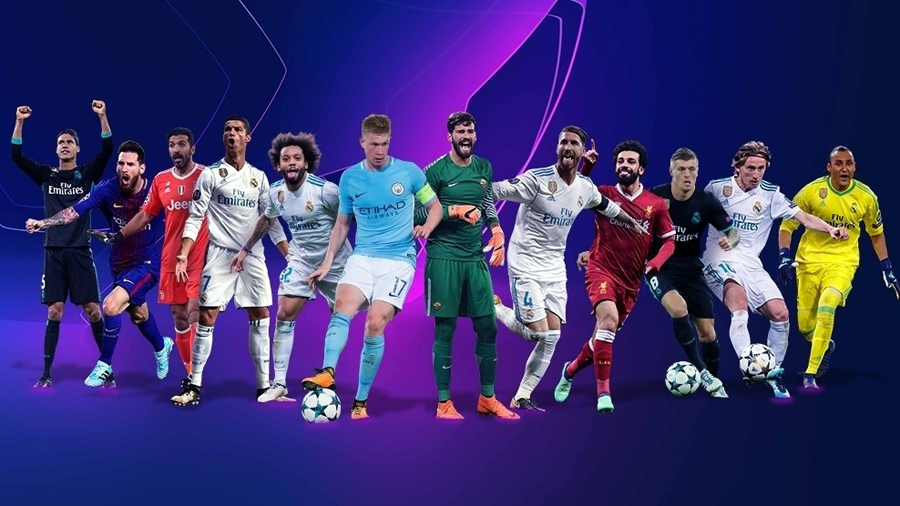 UEFA Best Players 2017/2018