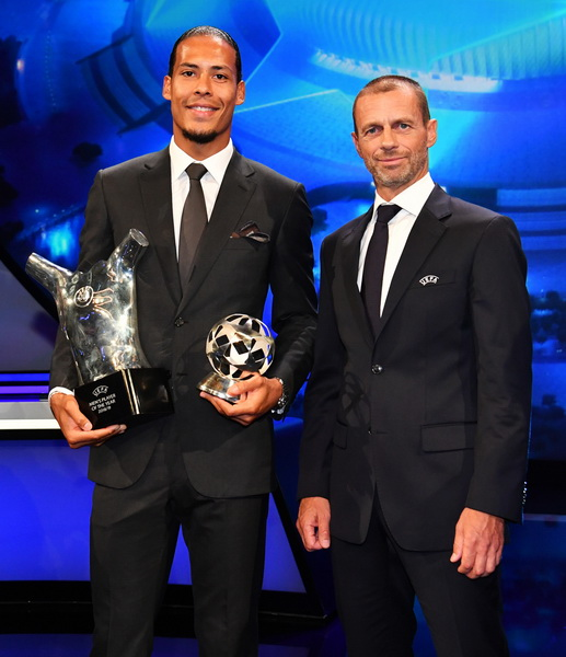 Van Dijk and Ceferin