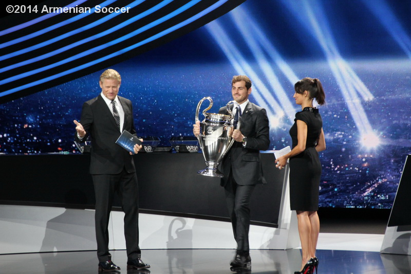 I. Casillas with the CL Trophy