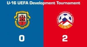 Gibraltar U16 - Armenia U16 0:2, UEFA Development Tournament