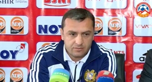 V. Minasyan's pre-match press-conference (Armenia - Czech Rep)