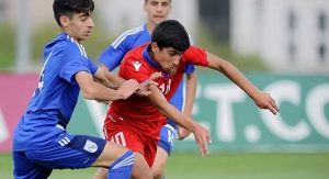 Armenia U15 - Cyprus U15 1:2, UEFA Development Tournament