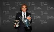 Luka Modrić was crowned the UEFA Men's Player of the Year 2017/18