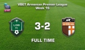 Lori - Shirak 3:2, Vbet Armenian Premier League 2020/21, Week 15